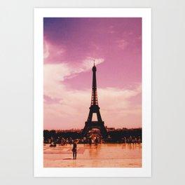 La Tour Eiffel // Tour Eiffel Art Print