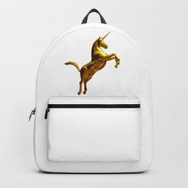 Gold Unicorn Backpack