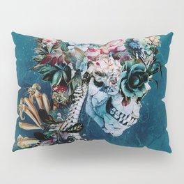 Floral Skull RP Pillow Sham