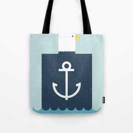 Eagle Captain Tote Bag