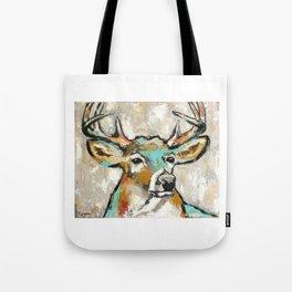 Buck, Deer Tote Bag