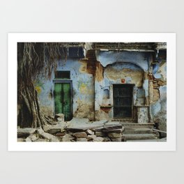 Doors (Rajasthan, India) Art Print