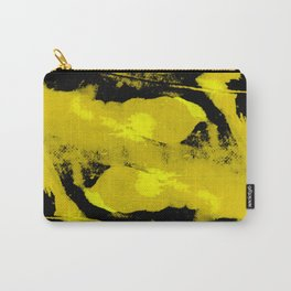 Abstract distortion (Yellow version) Carry-All Pouch