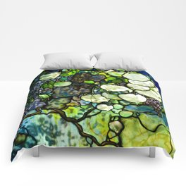Louis Comfort Tiffany - Decorative stained glass 7. Comforters