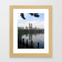 Rich and Famous Framed Art Print