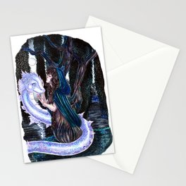 The Willow tree sign Stationery Cards
