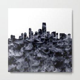 Jersey City Skyline New Jersey Metal Print