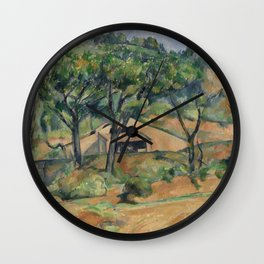 House in Provence Wall Clock