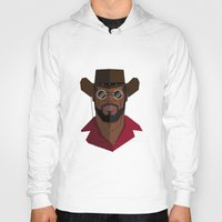 django Hoodies featuring Django Unchained by justdan