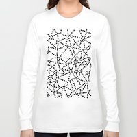 dots Long Sleeve T-shirts featuring Dots by Project M