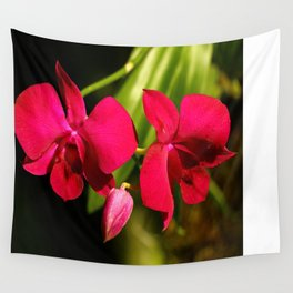 Red For Love Wall Tapestry