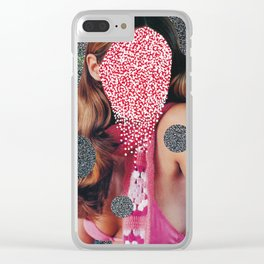Dotted Clear iPhone Case