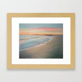 Sunrise on the Lake Framed Art Print