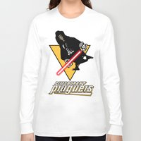 pittsburgh Long Sleeve T-shirts featuring Pittsburgh Plagueis by Ant Atomic