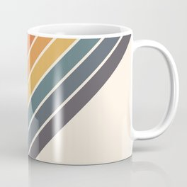 Arida -  70s Summer Style Retro Stripes Coffee Mug