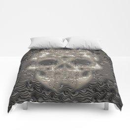 Stunning ribbed Skull Comforters