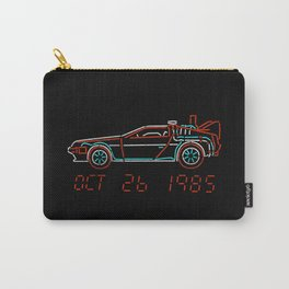 You Built a Time Machine...Out of a DeLorean? Carry-All Pouch