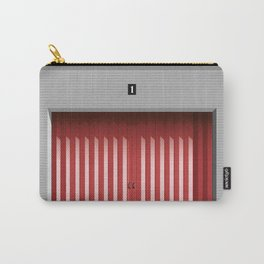 RED GARAGE DOOR Carry-All Pouch
