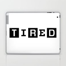 Tired Magazine Laptop & iPad Skin