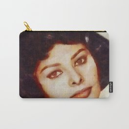 Sophia Loren, Vintage Hollywood Legend Carry-All Pouch