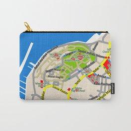 Tel Aviv map - Jaffa area Carry-All Pouch
