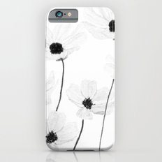 black and white cosmos  iPhone 6s Slim Case