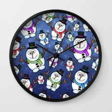 Frosties The Snowmen. Wall Clock