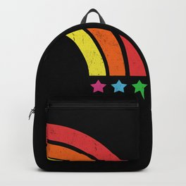 Grunge Rainbow | Digital Art Backpack