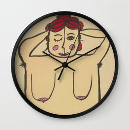 How to have a beach body Wall Clock