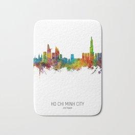 Ho Chi Minh City Vietnam Skyline Bath Mat