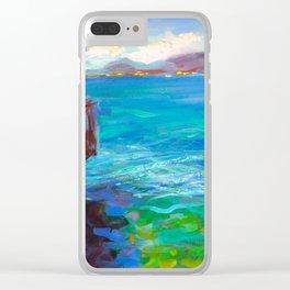 Lago di Garda Clear iPhone Case