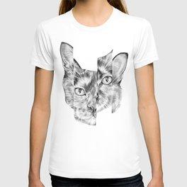 Kitty Split T-shirt