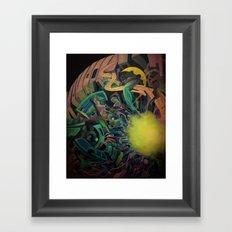 Core Planet Framed Art Print