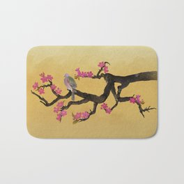 Plum Tree & Pigeon Bath Mat