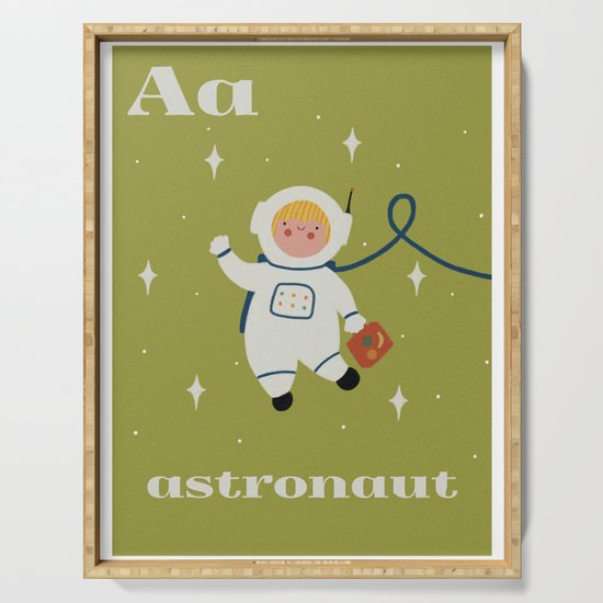 A is for Astronaut by heycocostudio