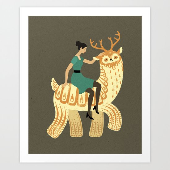 To the Party! Art Print