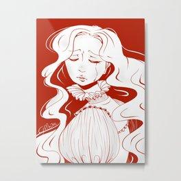 Beware of Crimson Peak Metal Print