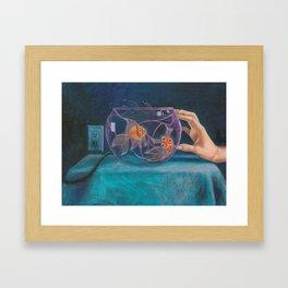 The Plasma Fish-bowl Framed Art Print