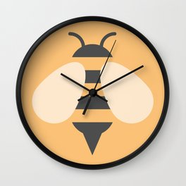 #81 Bee Wall Clock