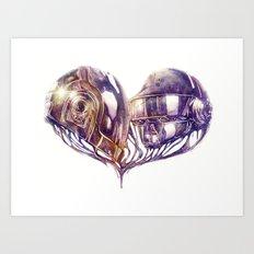 Daft Punk of Love Art Print