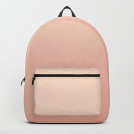 VIRGINIA II - Minimal Plain Soft Mood Color Blend Prints Backpack