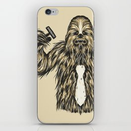 Chewie I Hate Mondays SW iPhone Skin
