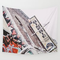 montreal Wall Tapestries featuring Montreal by sylvianerobini