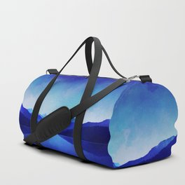 Midnight Blue Duffle Bag