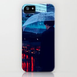 Tokyo Nights / Rain over Tokyo / Liam Wong iPhone Case
