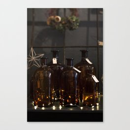 Never too many Twinkle Lights Canvas Print