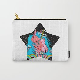 Crying Unicorn Carry-All Pouch