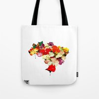 brasil Tote Bags featuring brasil by EDSON RAMOS