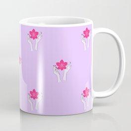 Holy orchid pattern Coffee Mug