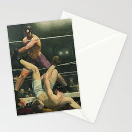 Dempsey and Firpo Boxing - George Bellows Stationery Cards